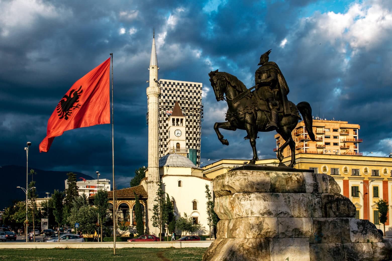 Tirana in 4K
