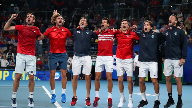 Сърбия надхитри Испания с 2:1 победи и спечели първото издание на ATP Cup