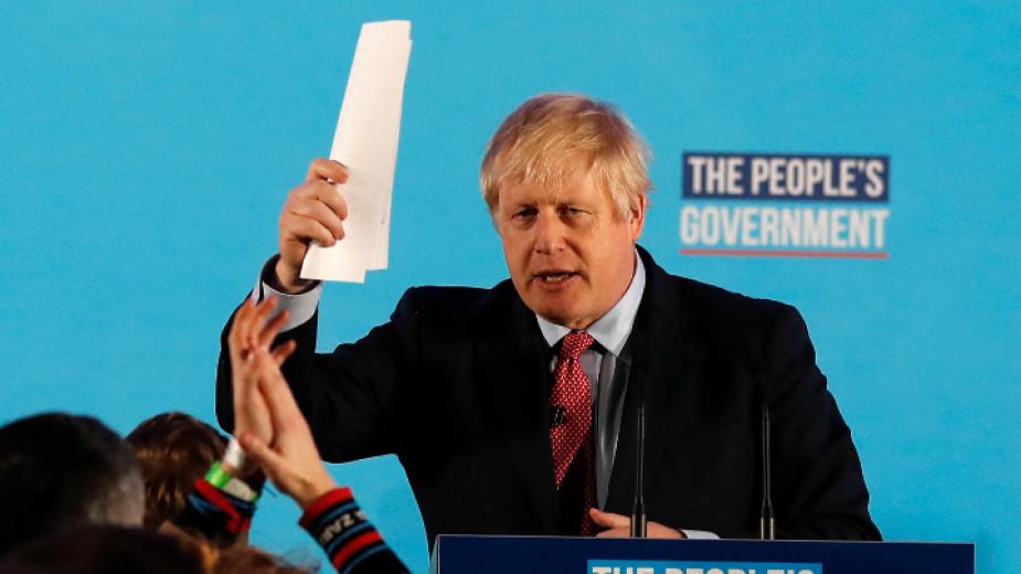 Борис Джонсън е оптимист за Брекзит