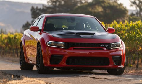 707hp Dodge Charger Hellcat Widebody review