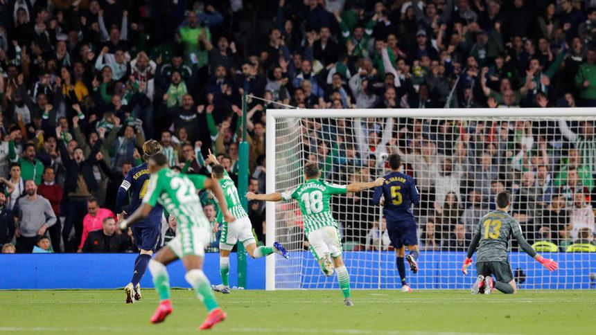 """""""Реал"""" сдаде първото място в Ла Лига"""