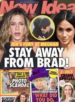 Анистън бясна на Меган заради Брад Пит