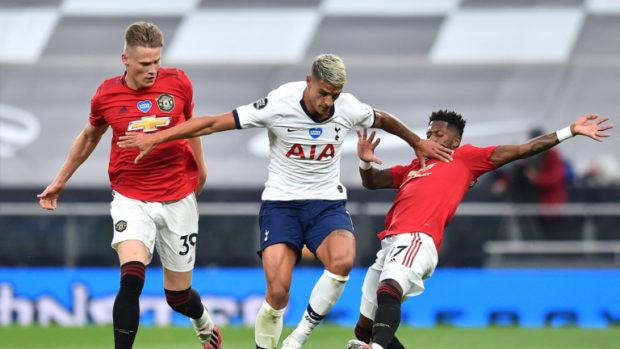 Тотнъм и Манчестър Юнайтед поделиха точките след 1:1 в Лондон