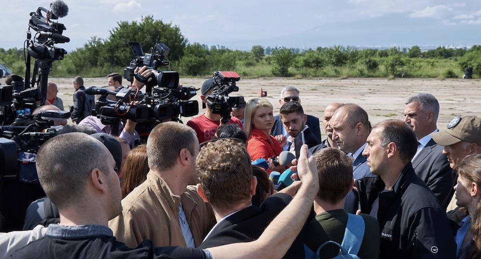 Румен Радев: Аудиозаписът с Бойко Борисов е брутална атака срещу България