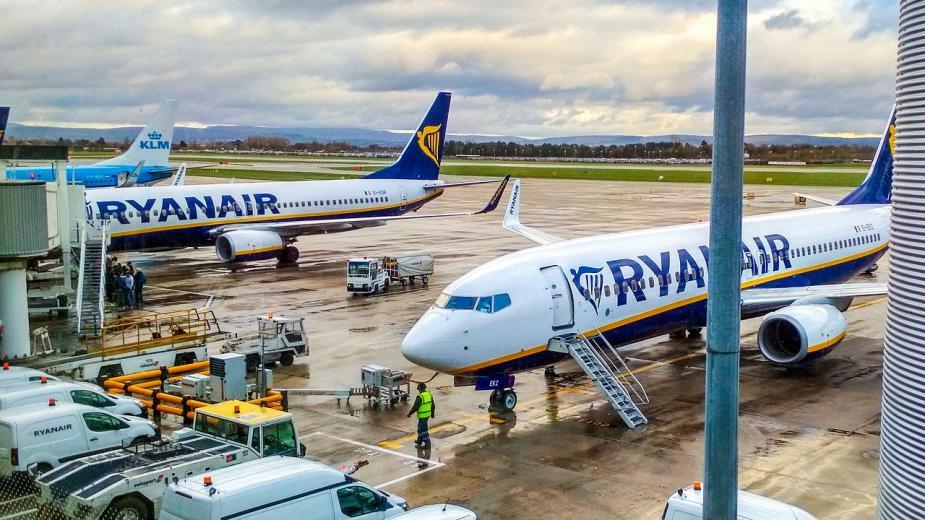 Временно Ryanair позволява промяна на полети без такса