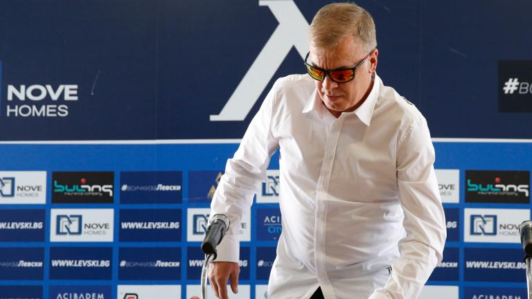 Наско Сираков и Константин Папазов се опитват да привлекат спонсори от чужбина