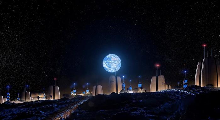Проектираха първото човешко селище на Луната