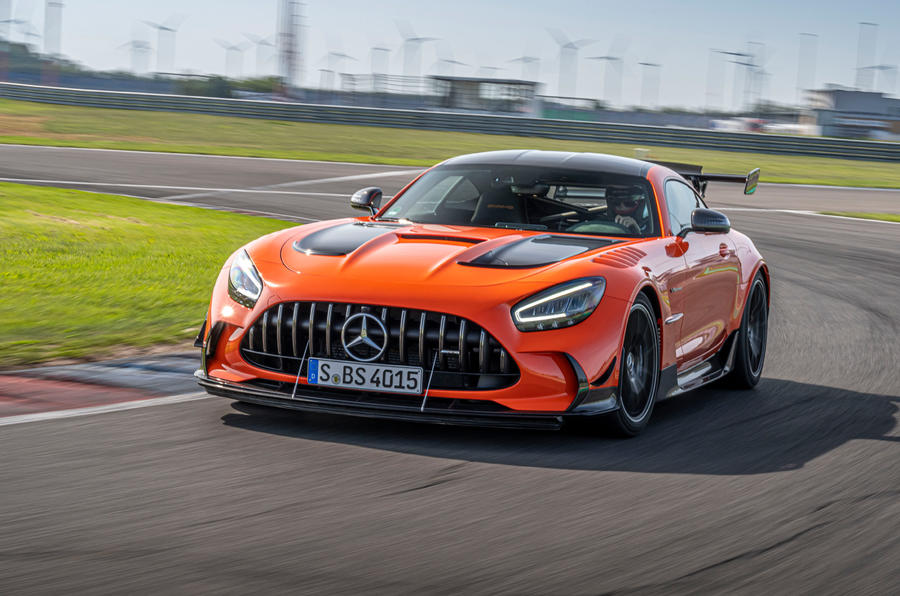 AMG GT Black Series REVIEW: see why it's worth £335,000