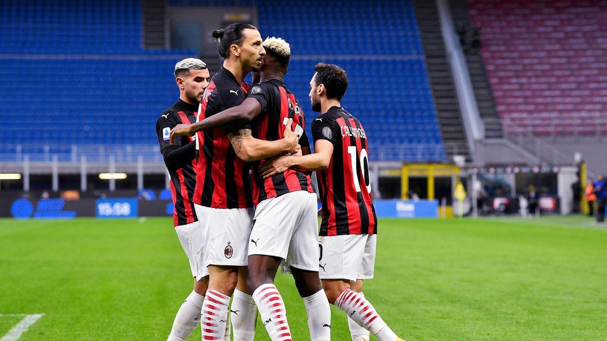 Ибра отвори портите на Рая за Милан в дербито с Интер