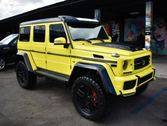 Mercedes G500 4×4² review
