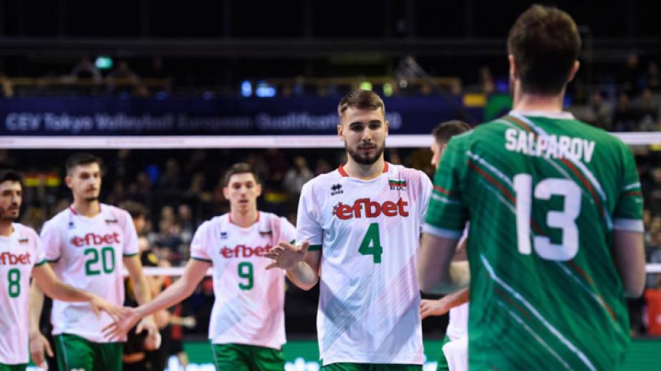 Волейболистите ни се класираха за европейското първенство