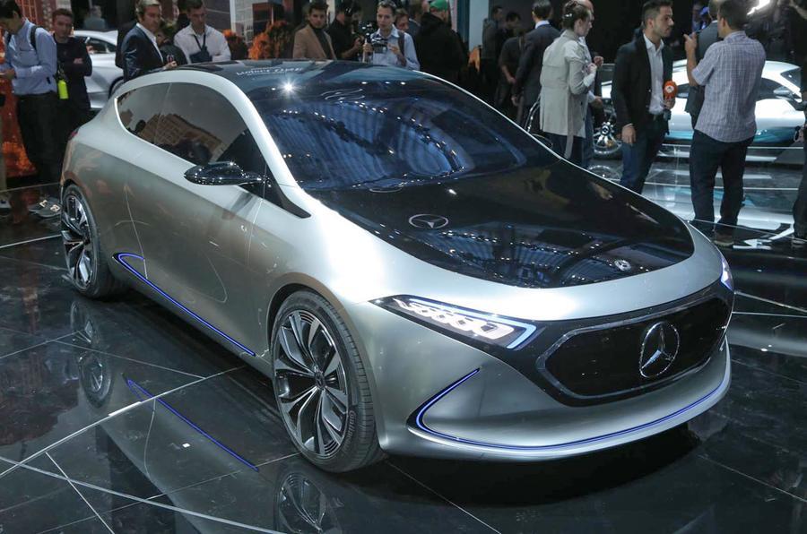 Mercedes all-electric EQA