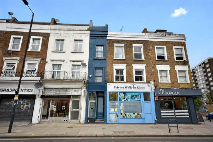 Разходете се в най-тънката къща в Лондон и нека размерът не ви подвежда (СНИМКИ)
