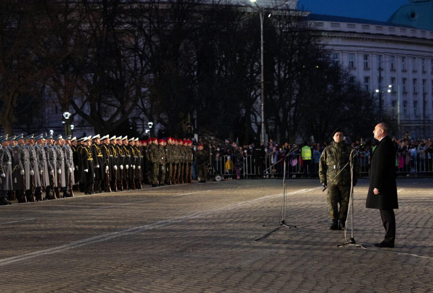 Държавният глава: На кръстопътя на историческите ветрове суверенитетът на България се отстоява с мъдра преценка и последователни усилия