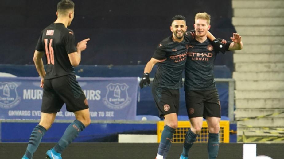 Де Бройне вдъхнови Манчестър Сити за 2:0 над Евертън