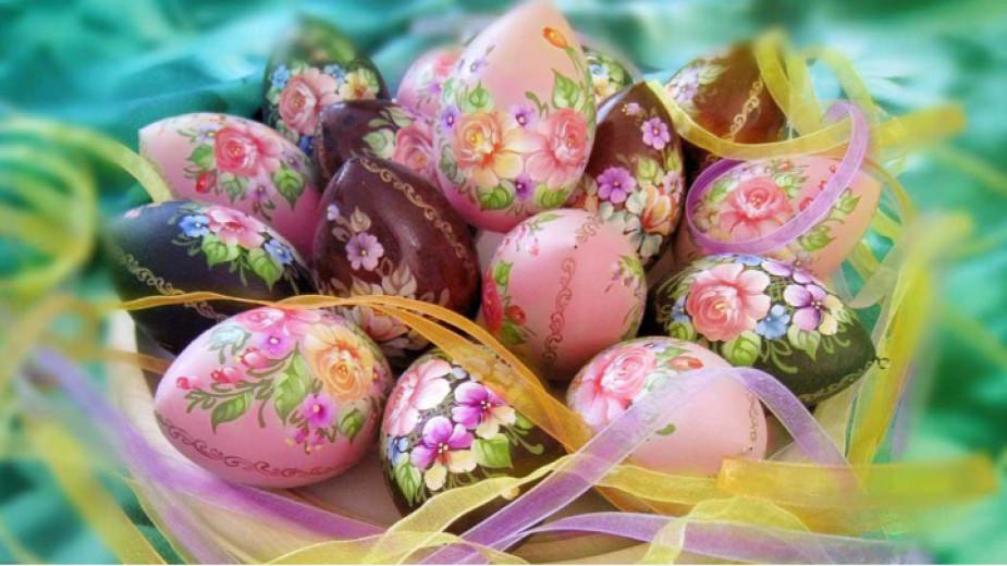 На Велики четвъртък се боядисват великденските яйца