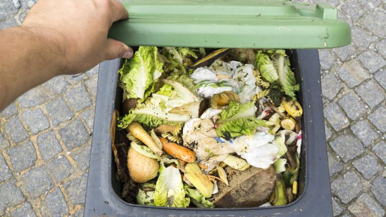 Всеки българин изхвърля годишно по 94 кг храна